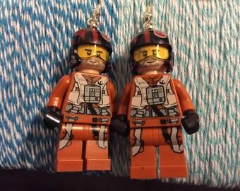 Poe Lego Earrings