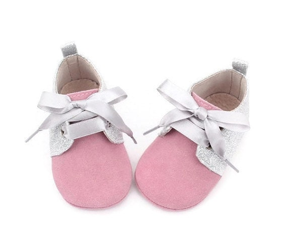 ON Sale Baby Oxford shoes Baby girl soft shoes by RemoliStudio