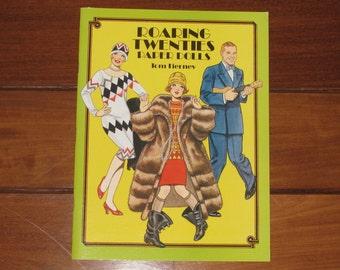1992 Roaring Twenties Paper Doll Book by Tom Tierney (Uncut)