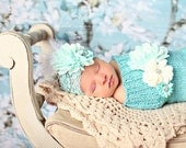 Basic Beauty Newborn Knitted Baby Cocoon, Photography prop