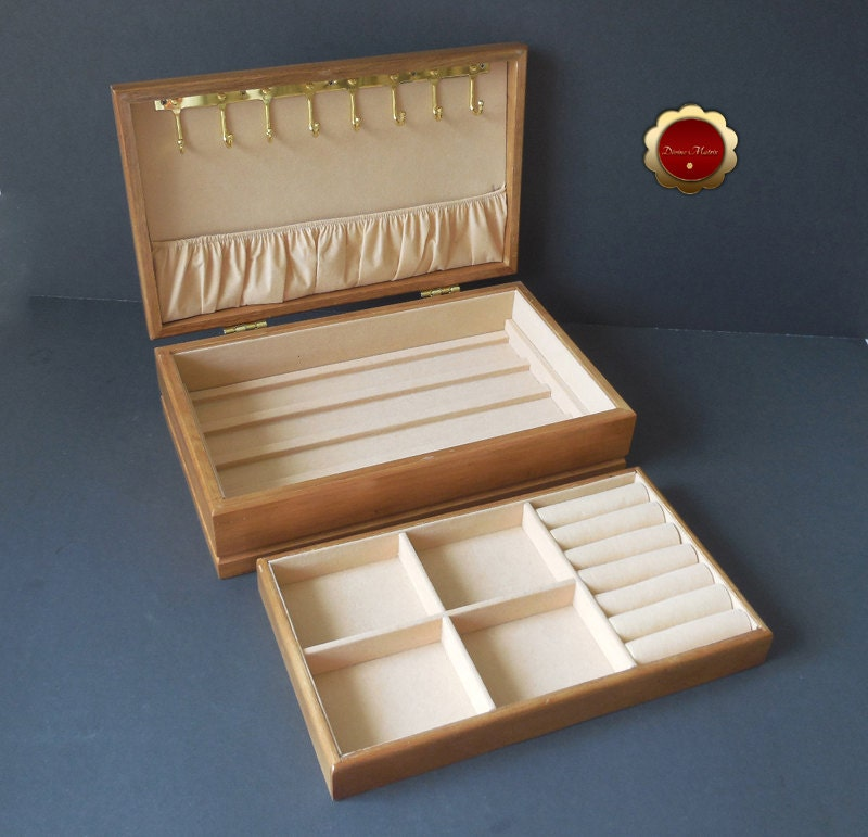 london leather jewelry box vintage wooden jewelry box