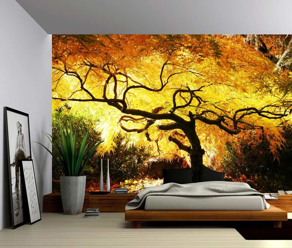 Maple Tree Large Wall Mural Self-adhesive Vinyl Wallpaper