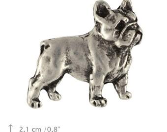 French Bulldog, dog pin, limited edition, ArtDog