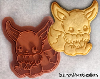 Eevee Pokemon Cookie Cutter