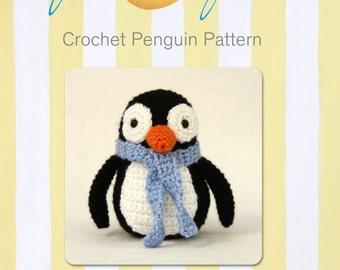 Cute Winter  Penguin Crochet Pattern