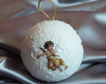 Christmas bauble with Angels