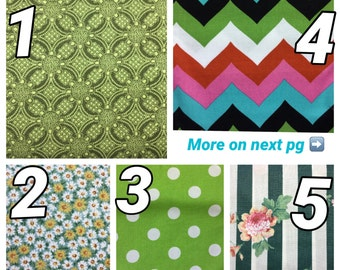 Fabric Choices GREEN
