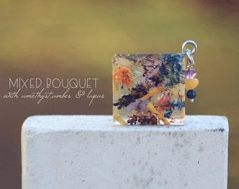 Mixed Bouquet Pendant