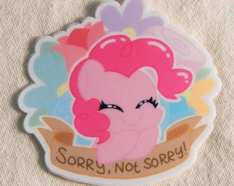 Rude Pony Sticker: Pinkie Pie