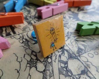 Adventure Time Tile Ring