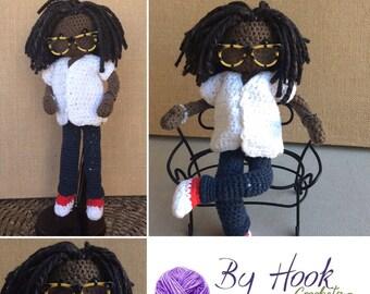 Custom Crochet Poseable Dolls