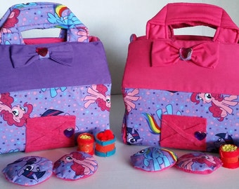 My Pony Stable Fabric Travel Playhouse