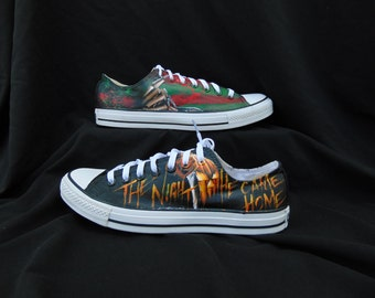 Horror Lovers Converse with Jason, Pennywise, Freddy Krueger, and Michael Myers