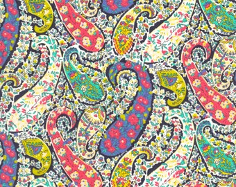 Liberty Tana Lawn, Bourton H, Classic collection, buy by the fat quarter/ metre