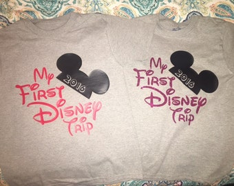 Brother/Sister Disney Shirts