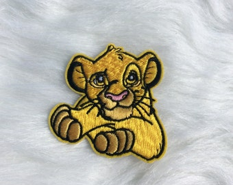 Cute Lion Patch