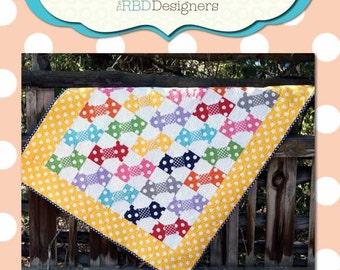 Quilt Kit Riley Blake Designs: Polka Dot Patch for a new baby