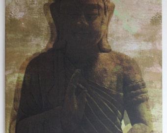 Print on canvas - buddha - 1'4'x1,4 feet/inces / 40x40 cm
