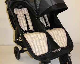 Baby Jogger City Mini Single Organic Cotton Stroller Pram