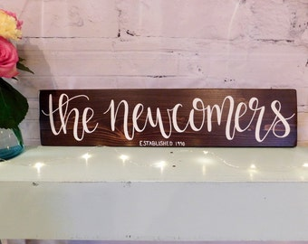 Custom Family Name Sign