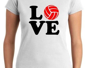 T-shirt T0926 love vollley sports