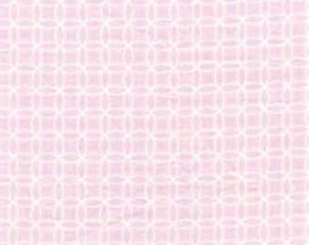 Leanika by Dena Designs for Free Spirit Fabrics Pink Circle Fabric REMNANT