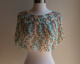 Coloful Boho Shawl