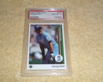 1989 Upper Deck PSA Graded GEM MT 10 #215 of George Brett