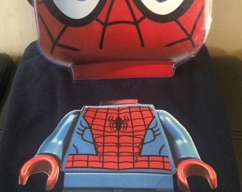 Customized Lego Birthday Party Tshirt and Mask Package