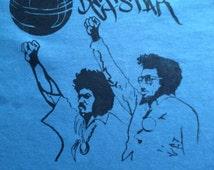 Black Power t shirt with an original design screenprinted onto 100% cotton Fruit of the Loom t shirt
