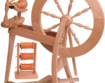 Double Drive Traditional Spinning Wheel