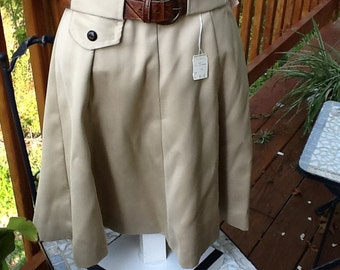 Vintage skirt, original belt, 70s, brand new with tags, made in the USA