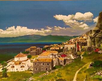 Greek village Monemvasia