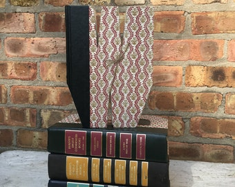 Letter W..Custom Made Just For YOU!!!!  Letters created from actual Hardcover Books!!