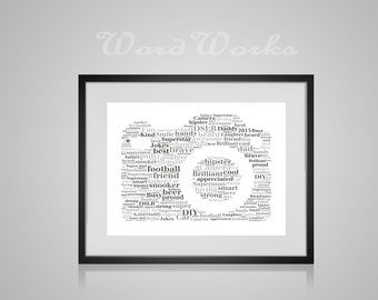 "Personalised Camera Word Art **Buy 3 prints get the 4th FREE**  Use coupon code "" MYFREEONE """