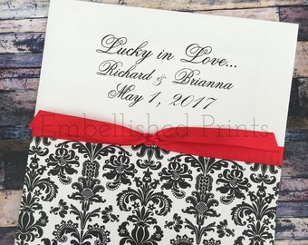Linen Envelope Favor