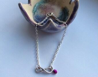 Infinity delicate bracelet