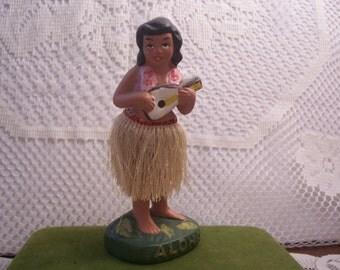 Vintage Hula Dancer Figurine