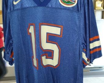 Florida Gators Football Jersey # 15 by Team Nike Adult Small UF