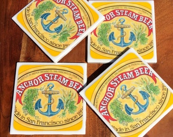 Anchor Steam Beer Coasters