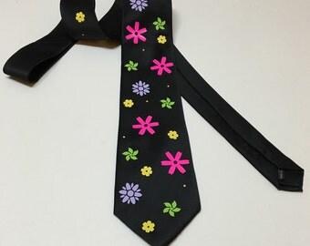 Flowers Necktie