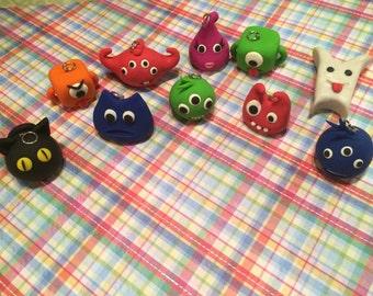 Polymer Clay Nerdlings