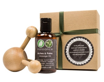 Aches and Pains Massage Oil Gift Set