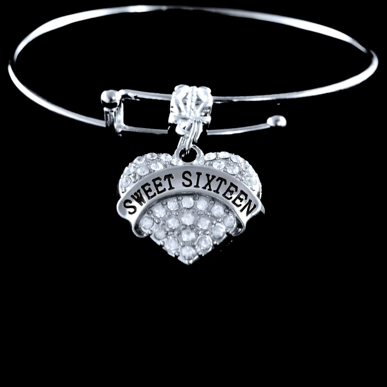 Sweet 16 Charm Bracelet: Sweet 16 Bracelet Sweet 16 Gift Sweet 16 Charm Sweet Sweet