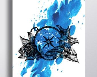compass -   illustration
