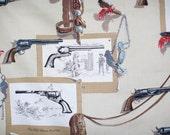Vintage Colt Gun cotton f...