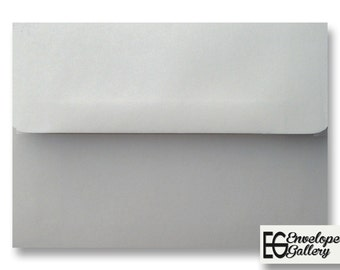 Pastel Gray (50 Boxed) Envelopes for Invitations Announcements Response Greeting Cards Enclosures Showers Weddings Communions A2 A6 A7 Grey