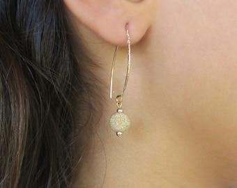 Gold Long Dangle Earrings, Long Dangle Earrings, Gold Dangle Earrings, Gold Earrings Dangle,Dangle Earrings,Long Earrings,Gold Long Earrings