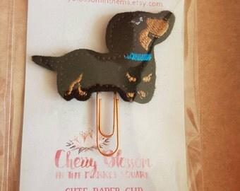 Dachshund Sausage Dog Paper Clip