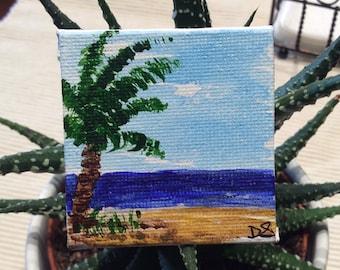 Miniature Acrylic Painting